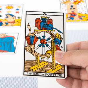 Tarot the Wheel of Fortune and Relationships