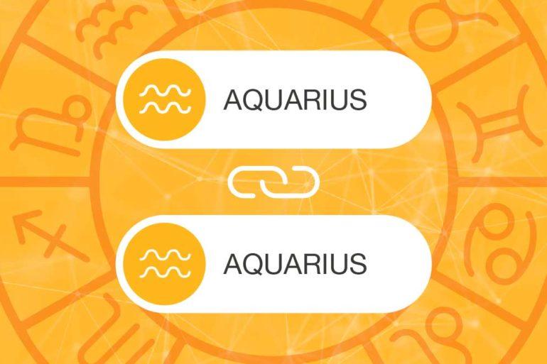 Aquarius Aquarius Zodiac Compatibility | California Psychics