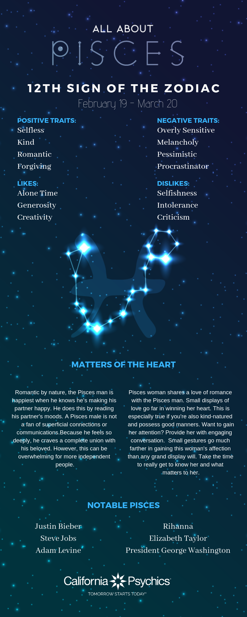 Pisces Traits: Inherent Duality and Romance | California