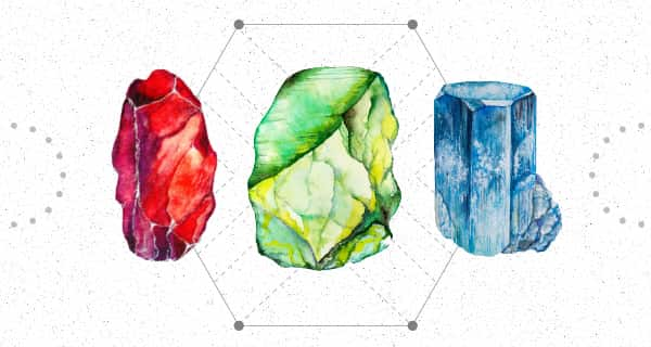 Birthstone Traits: Ruby, Sapphire, Peridot | California Psychics