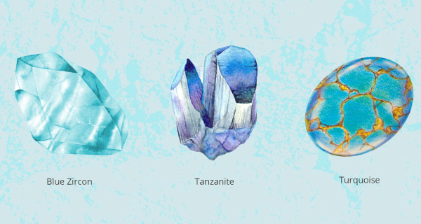 All About Zircon, Tanzanite, and Turquoise: December Birthstones | California Psychics