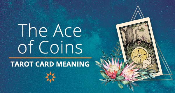 Ace of Coins Tarot Card Meaning   California Psychics