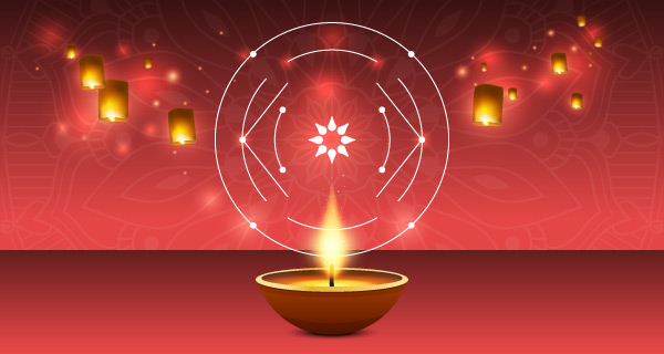 A lamp used to celebrate Diwali| California Psychics