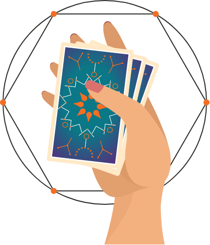 Tarot Hand Graphic
